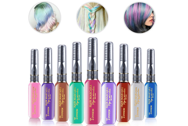 Comb In & Wash Out Hair Colour – 9 Colours! for £5.99