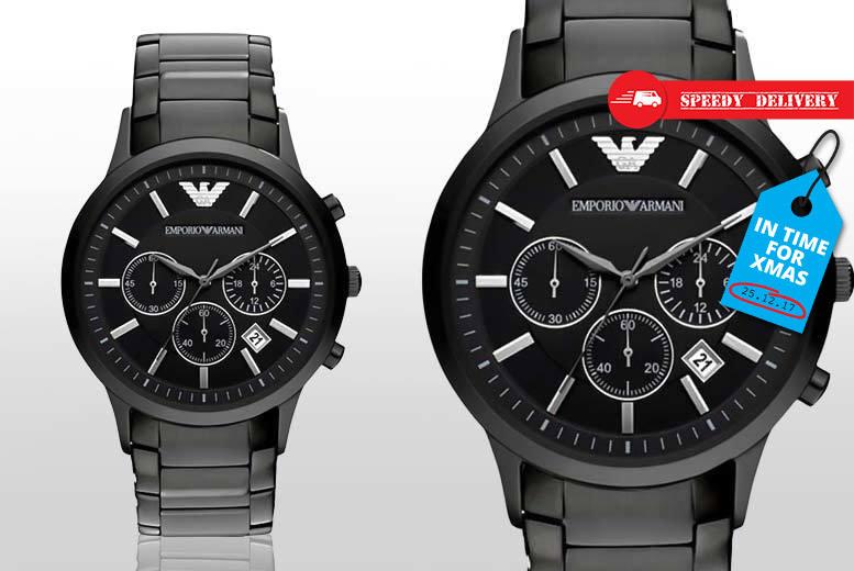 Men's AR2453 Emporio Armani Steel Watch for £129