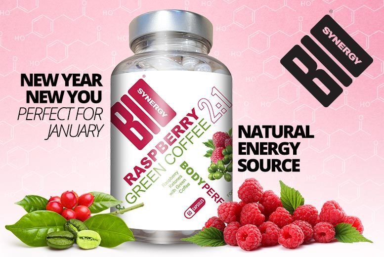 Raspberry Ketone and Green Coffee Blend – 2 Month Supply!* for £14.99