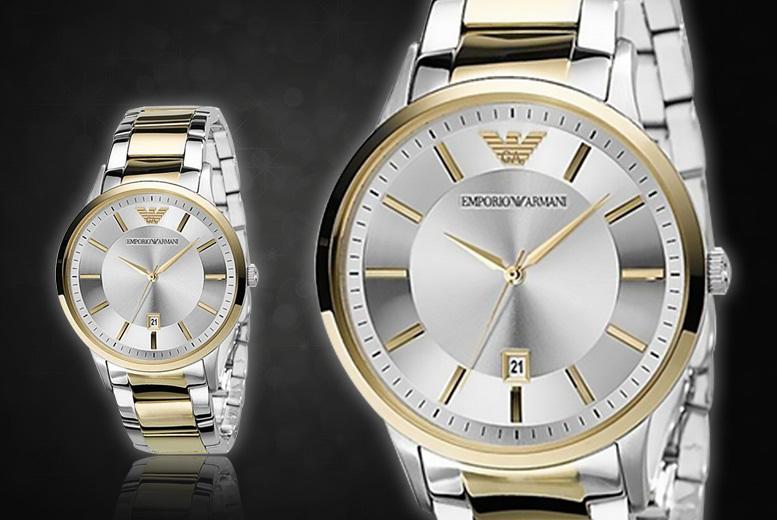 Emporio Armani Two-Tone AR2449 watch