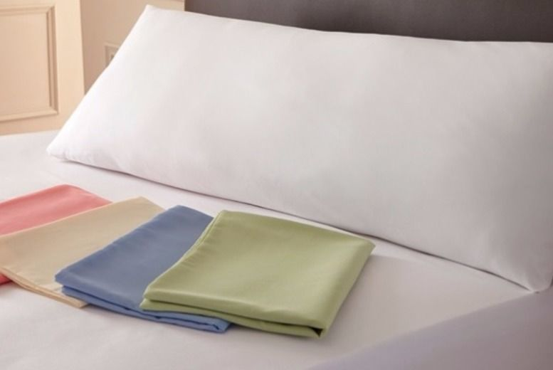 Huggable Bolster Support Cushion Plus Pillowcase – 4 Colours!