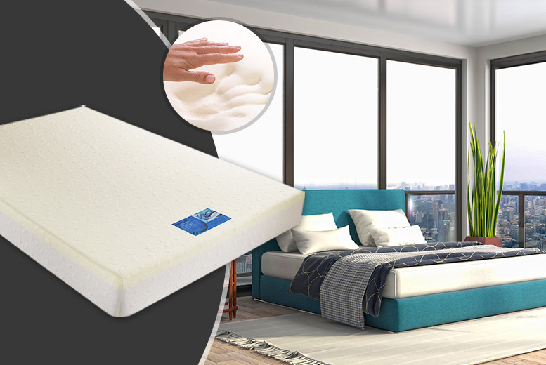 Extra-Deep Cooling Orthopaedic Memory Foam Mattress - 2 Sizes!