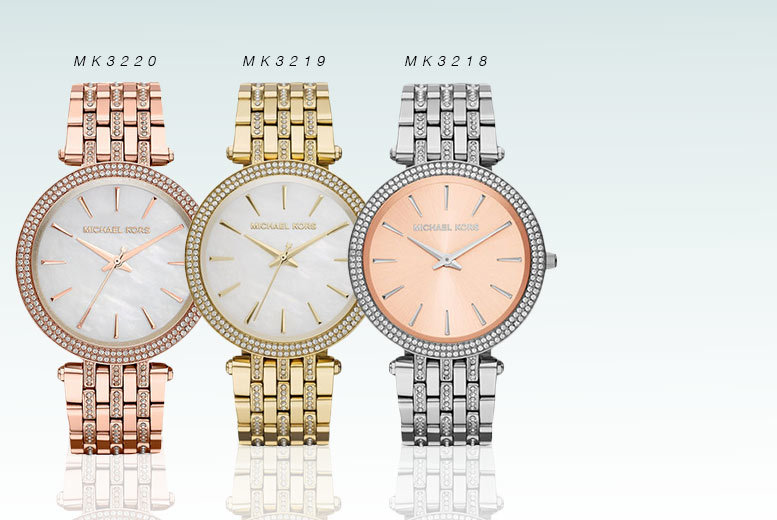 £124 instead of £229 (from Gray Kingdom) for a Michael Kors ladies' Darci watch - choose from six designs and save 46%