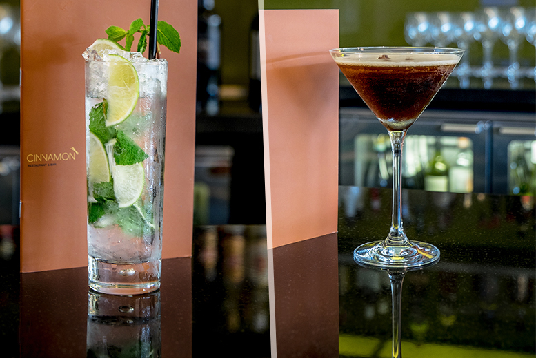 £19 for four cocktails for two people to share, or £25 for six cocktails at 4* Hilton Canary Wharf - save up to 52%