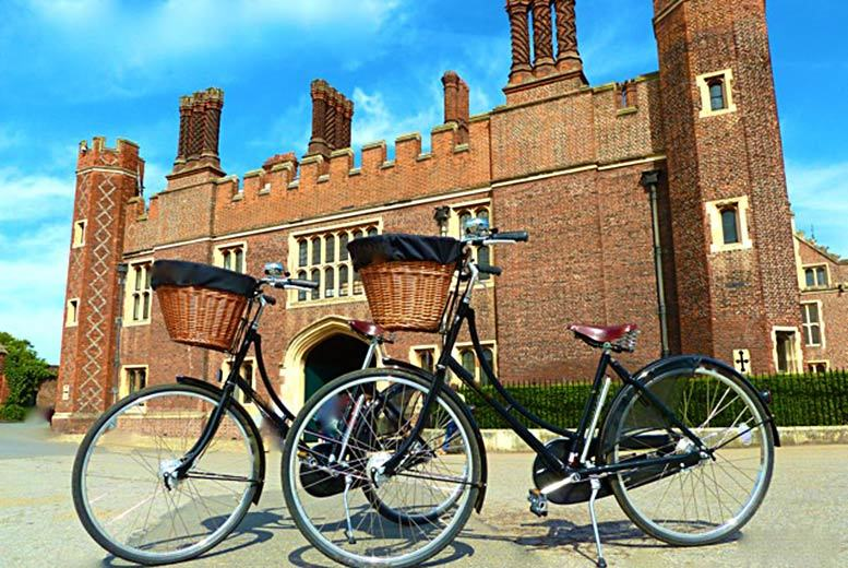 £29.99 for a Hampton Court Palace bike tour for two from Activity Superstore!