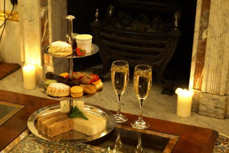 £24 for a Champagne afternoon tea for two including sandwiches, scones and cakes, £46 for four people, £66 for six people at 4* The Colonnade Hotel - save up to 69%
