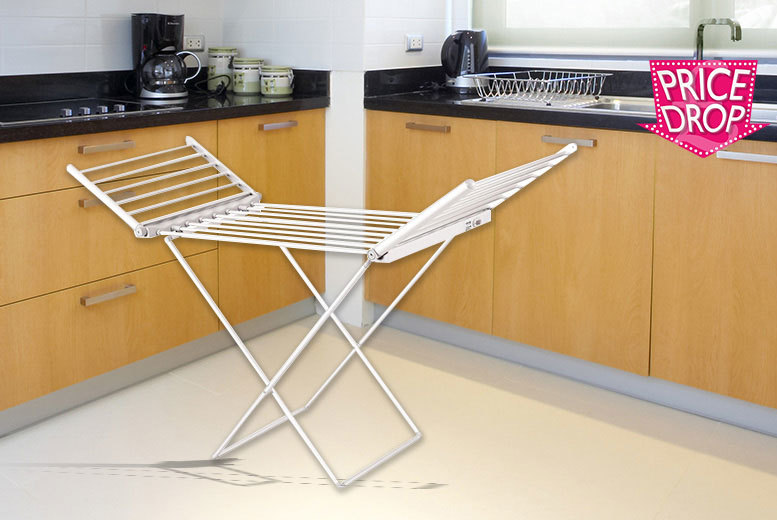 Electrically Heated Clothes Horse Dryer for £29