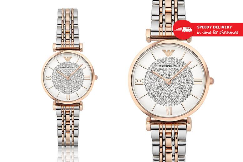 Ladies' Emporio Armani AR1926 Watch for £139