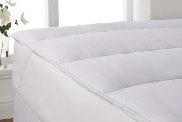 percale mattress topper