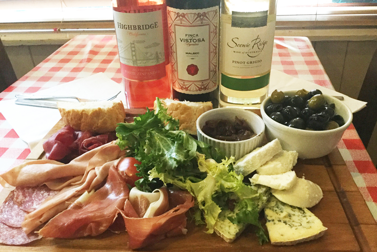 £14 instead of up to £26.10 for an Italian sharing board with a bottle of house wine for two people at Mamma Mias, Newcastle - save up to 46%