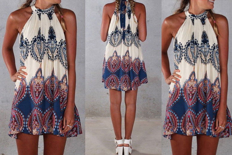 £8 instead of £34.99 (from EF Mall) for a Boho beach summer dress - save 77%