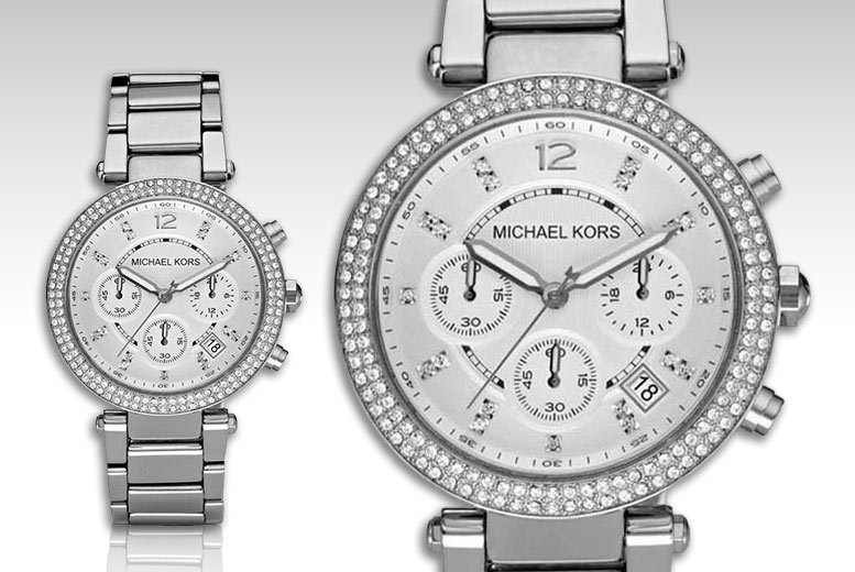 £99 instead of £259.99 for a Michael Kors ladies' Parker MK5353 watch - save 62%