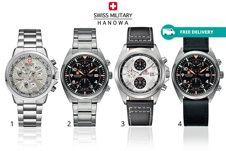 Swiss Military Hanowa Watches - 8 Designs!