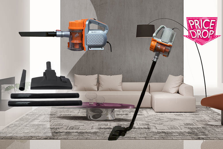 600W Dual Cyclone Vacuum from £26