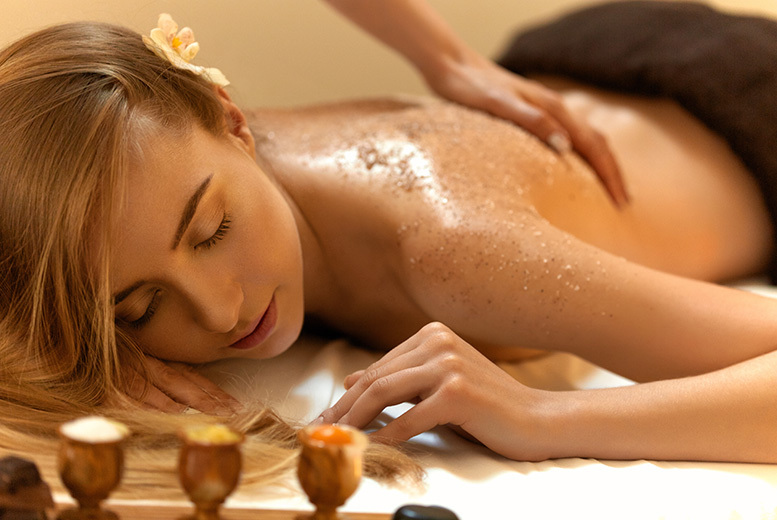 £22 instead of £48 for a 90-minute package including a full body scrub, body wrap and an express facial at California Beauty, Glasgow - save 54%