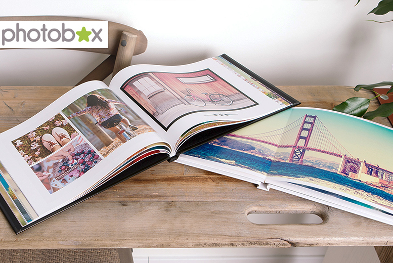 From £12 (from Photobox) for an A4 personalised hard cover photobook - save up to 66%
