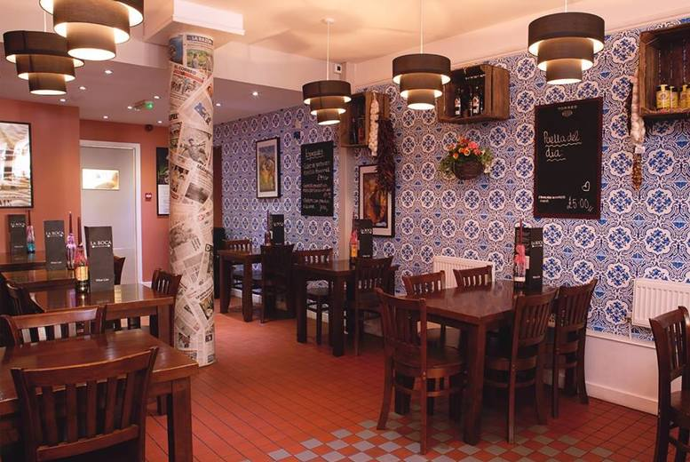 £14 for five tapas dishes, bread and olives for two people to share, or £27 to double it for four people to share at La Boca, Glasgow - save up to a tasty 53%