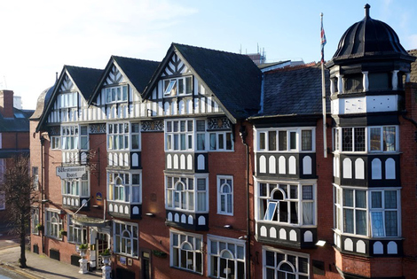 £69 (at Best Western Hallmark Hotel Chester Westminster) for an overnight stay for two people with breakfast, a welcome drink and late check-out - save up to 30%