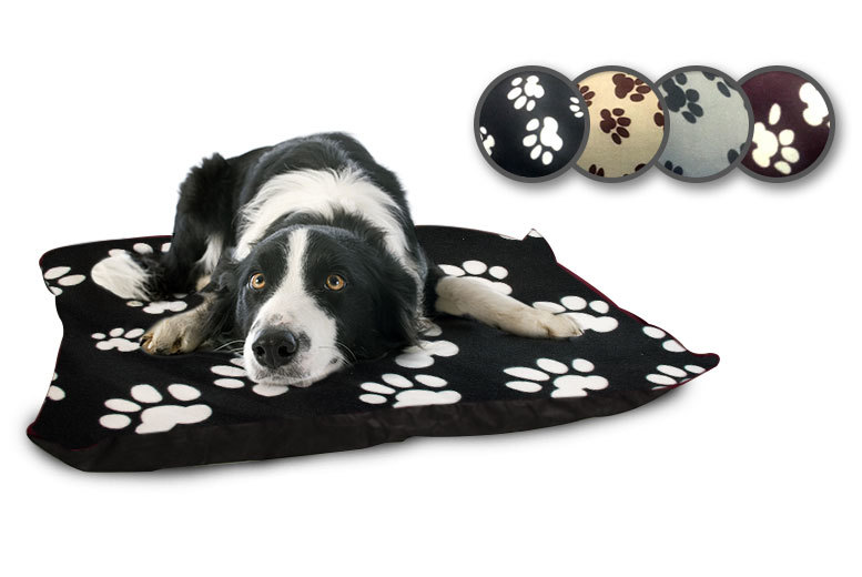 "£8.99 instead of £39.99 (from Home Furnishings Company) for a 27"" x 37"" fleece dog bed, £16.99 for two, £17.99 for a 37"" x 57"" bed, £24.99 for two - save up to 78%"