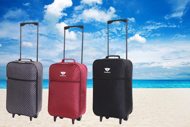£9.99 for a cabin-approved Slimbridge Barcelona bag from Karabar Ltd - choose from 3 styles!