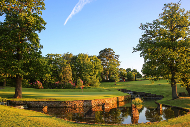 £34 for 18 holes of Championship golf with bacon rolls and coffee for two people, £66 for four people at the Macdonald Portal Hotel Golf & Spa, Tarporley - save up to 74%