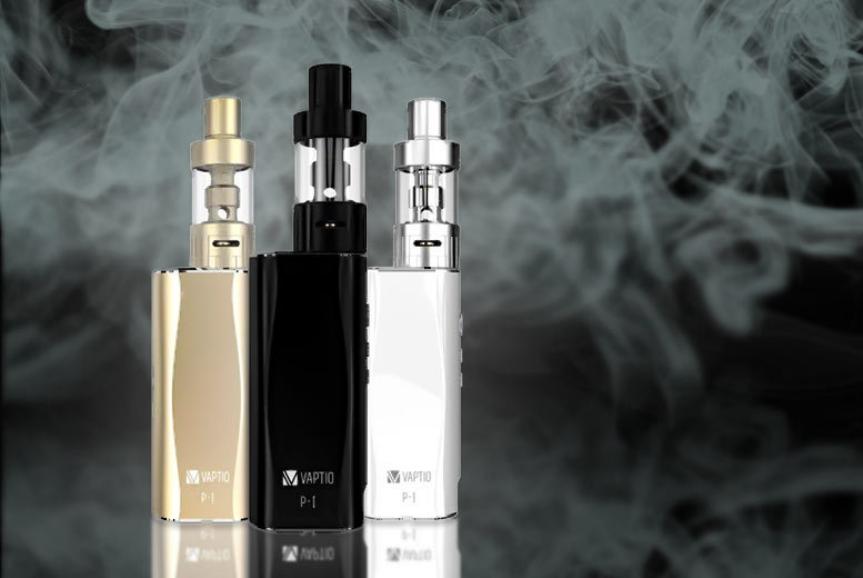 £33 (from GoHookah) for a Vaptio P-I 50W 2100mAh vape starter kit - choose from three colours
