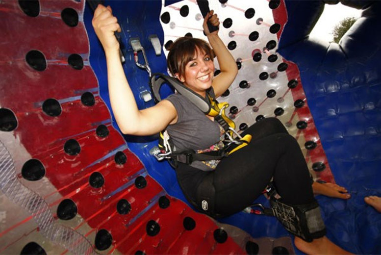 £49 for a harness zorbing experience for two people with Buyagift - choose from four nationwide locations!