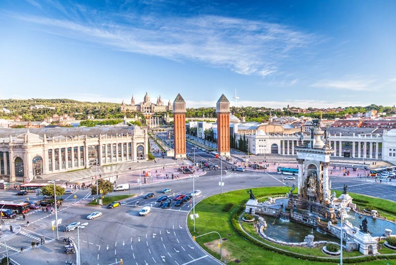 From £89pp instead of up to £142pp (from Tour Center) for a two-night 4* Barcelona break including flights, from £149 for a three-night break - save up to 37%