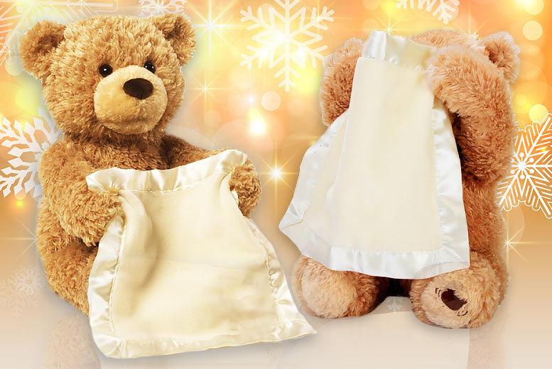 Peek-A-Boo Teddy Bear for £16.99