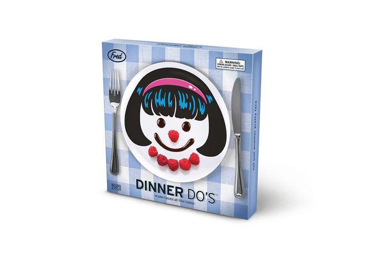 Fred's Dinner Do Plate Set – 2 Designs! for £9.99