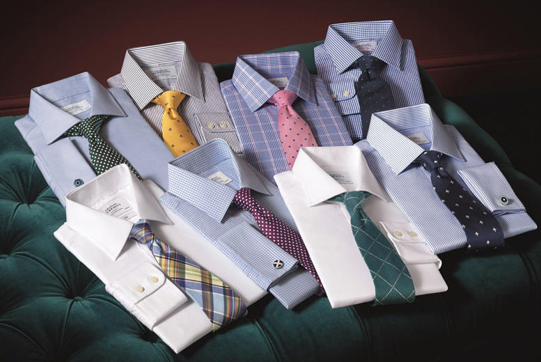 £20 for a £40 voucher to spend on shirts, suits, casual wear and accessories with Charles Tyrwhitt online - save 50%