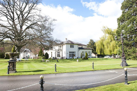 £109 (at Llyndir Hall Hotel & Spa) for an overnight getaway for two including dinner, spa access, breakfast and late check-out, £159 for two nights - save up to 34%