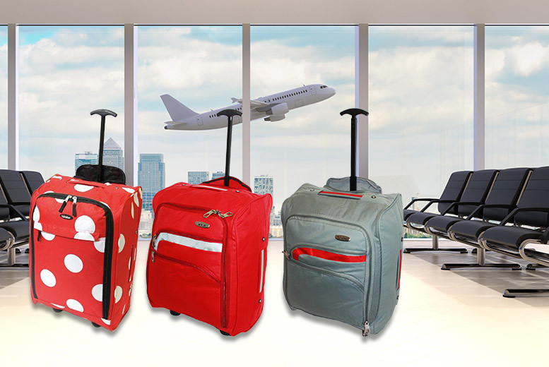 cabin approved wheelie hand luggage