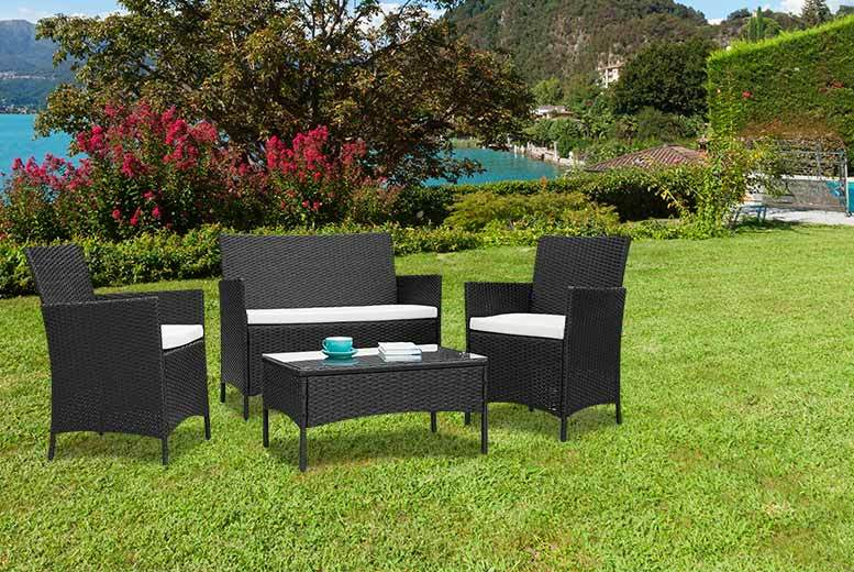 £109 instead of £480 (from Furniture Instore) for a four-piece rattan set - save 77%