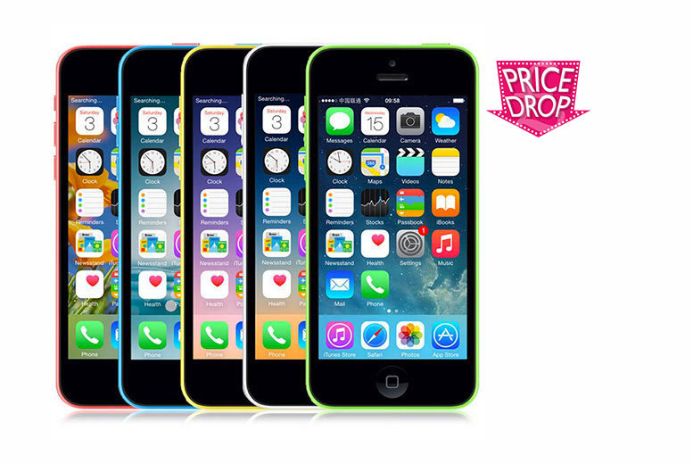£119 instead of £258 (from EF Mall) for a grade A refurbished and unlocked Apple iPhone 5C 16GB - choose from five colours and save 54%