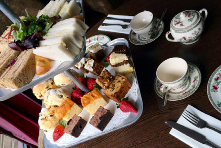 £21 instead of £43.90 for an afternoon tea for two people with a white wine spritzer each at The Quicken Tree, Warwickshire - save 52%