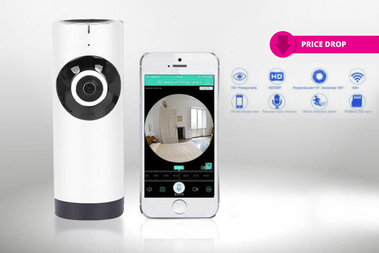 Fish-Eye Home Security Camera for £19