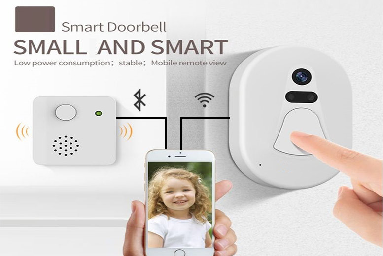 App Controlled Wireless Video Doorbell for £49