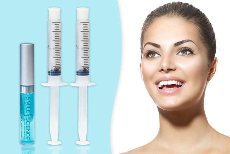 LED Activated Advanced Teeth Whitening Treatment Refill Kit for £9.99