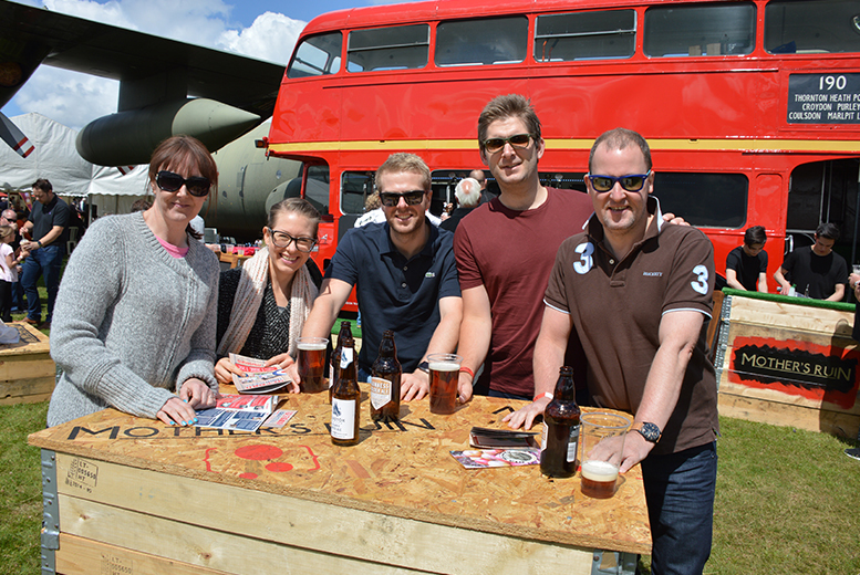 £7.50 for two adult tickets to the 2016 Cosford Food Festival at the Royal Air Force Museum, Cosford, or £9 for a family (two adults and four children) - save up to 25%