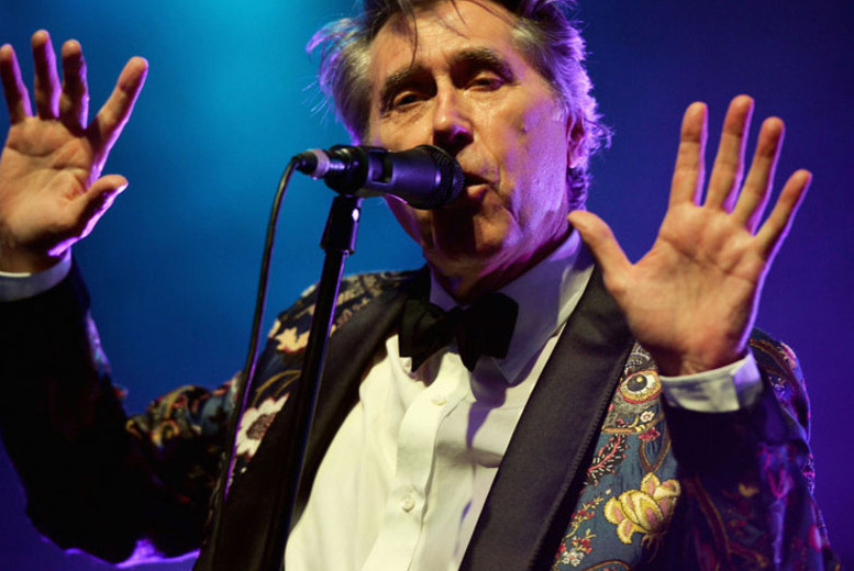 £39.50 for a ticket to Bryan Ferry live outdoors at Burghley House, Stamford on 11th June