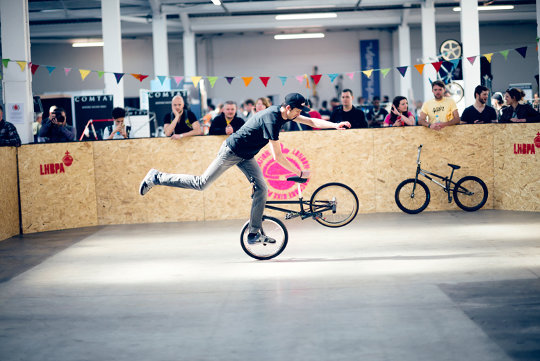 £8 instead of £13 for one ticket to Spin: The Cycling Festival at The Old Truman Brewery, Brick Lane - choose from three dates and save 38%