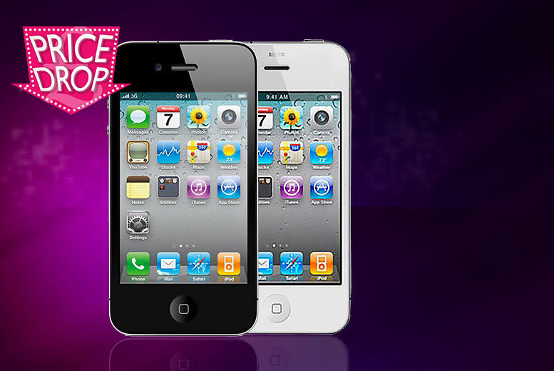 £69 (from Fone Plaza) for an unlocked refurbished Apple iPhone 4 8GB, £79 for 16GB - choose from two colours and save up to 30%
