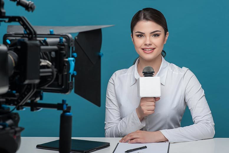 £29 instead of £252 for a one-day 'Be a TV Presenter' training course with the TV Training Academy - choose from six locations and save 88%