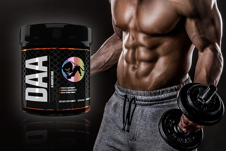D-Aspartic Acid Testosterone 'Booster' 200g for £7
