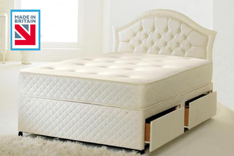 Andrea Tufted Memory Sprung Mattress