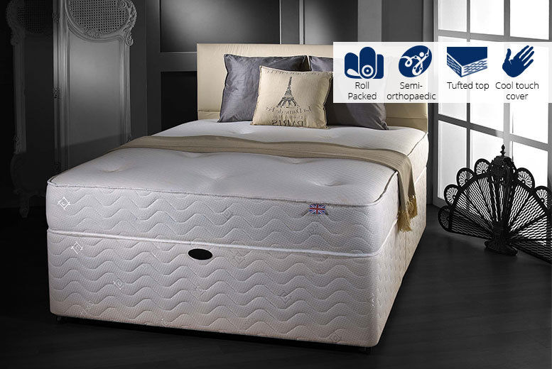 Cool-Touch Tufted Sprung Mattress