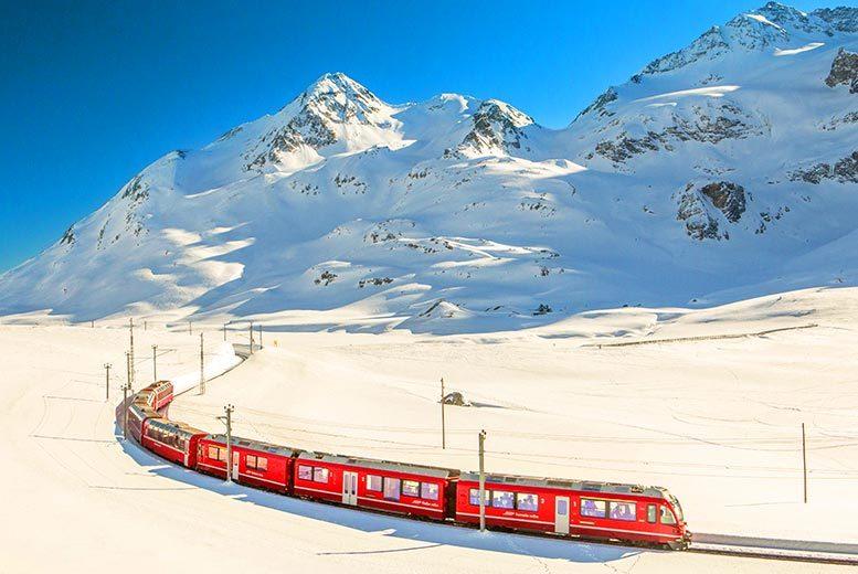 2-3nt Switzerland Break, Glacier Express Train and Flights