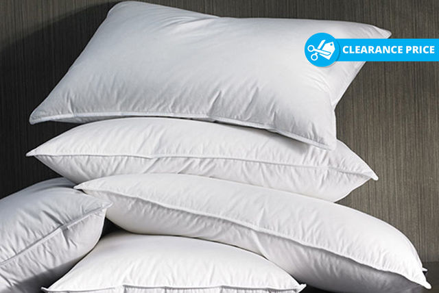 anti-allergy super bounce back pillows