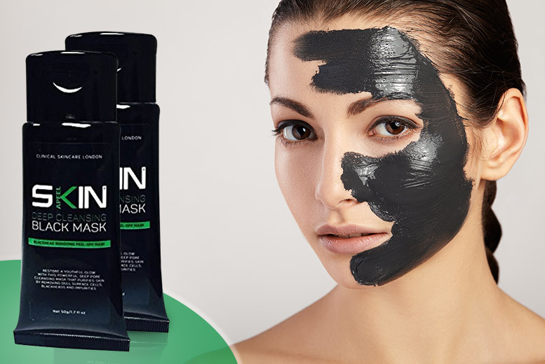 £7.99 instead of £59.99 (from Forever Cosmetics) for two 50ml tubes of Skinapeel deep cleansing blackhead peel mask - save 87%